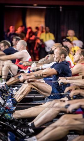 Invtictus Games Rowers
