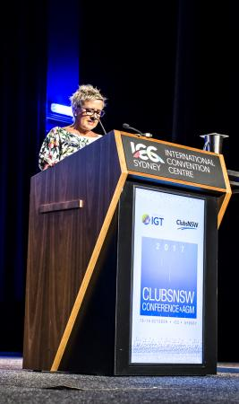 Anne Fitzgerald CLubsNSW COnference